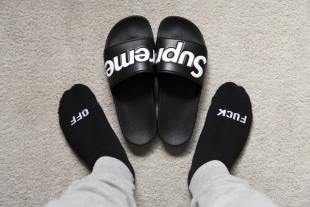 Sandal Shower Slides pria kekinian