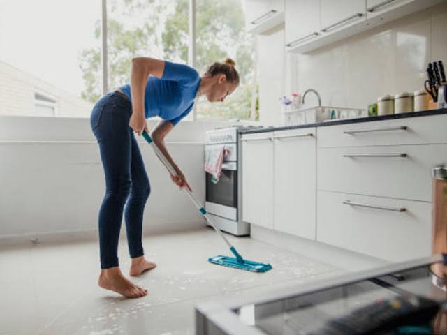 gambar banyak manfaat yang didapat jika pandai merawat kebersihan ruangan dapur