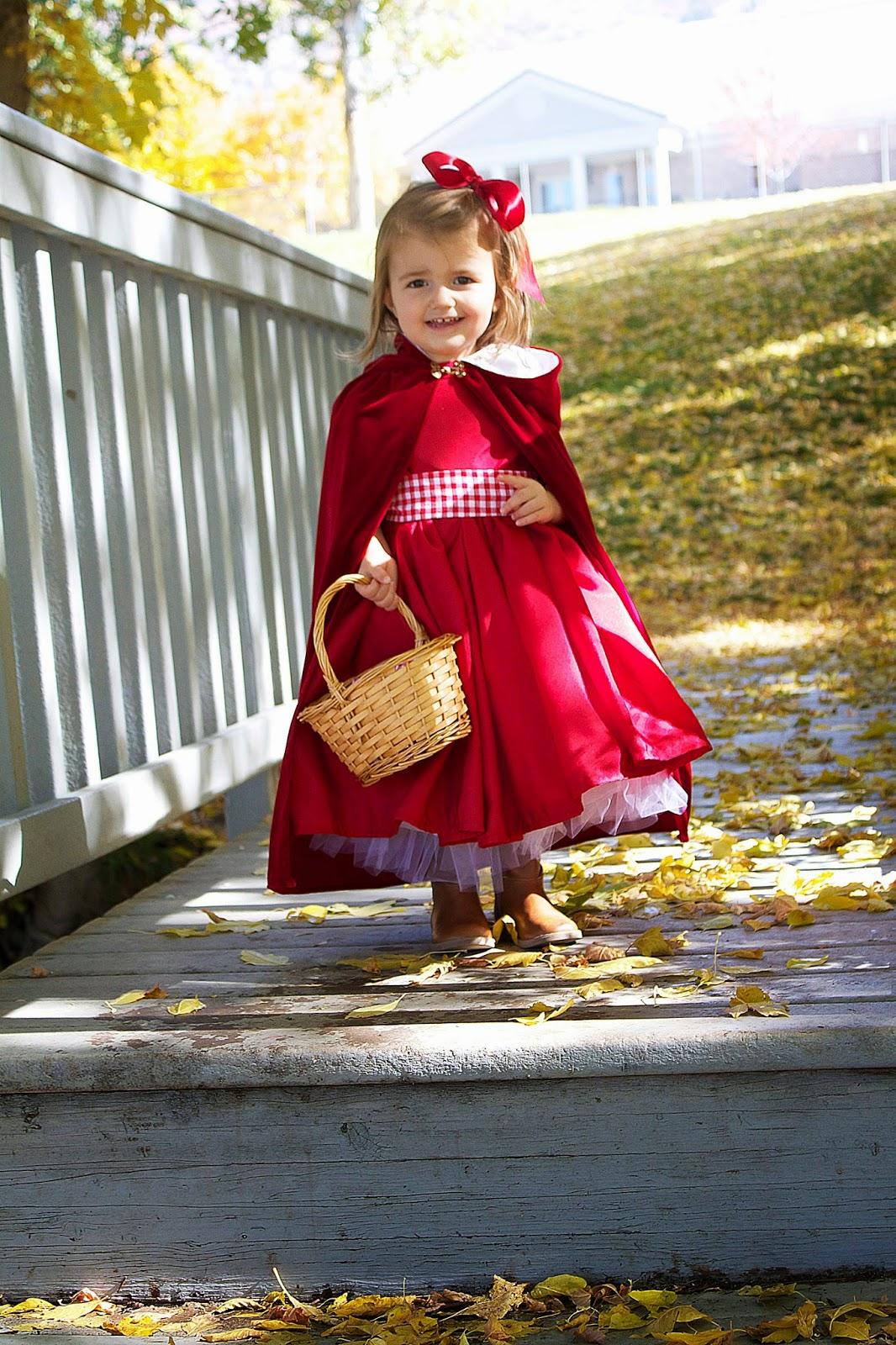 Do It Yourself Divas Diy Little Red Riding Hood Costume Cloak 2t 4t
