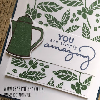 Click here to learn more about the Coffee Break Designer Series Paper, Stampin' Up!