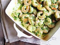 Mark Bittman's Shrimp In Green Sauce