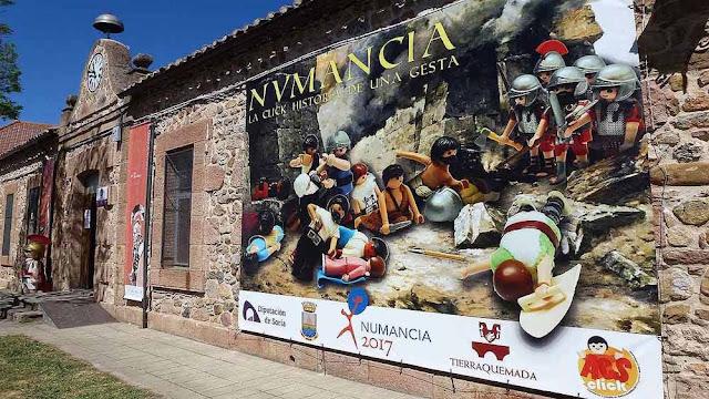 Soria - Numancia - Diorama de Playmobil