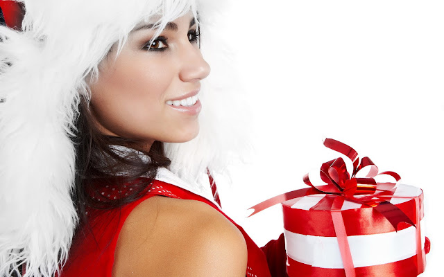 Christmas Girls HD Wallpapers Download Free