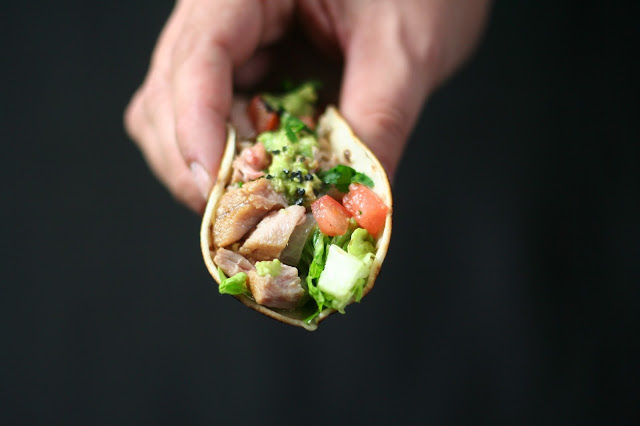 Tacos De Atún Al Comino
