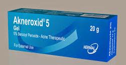 أكنروكسيد جيل لعلاج حب الشباب