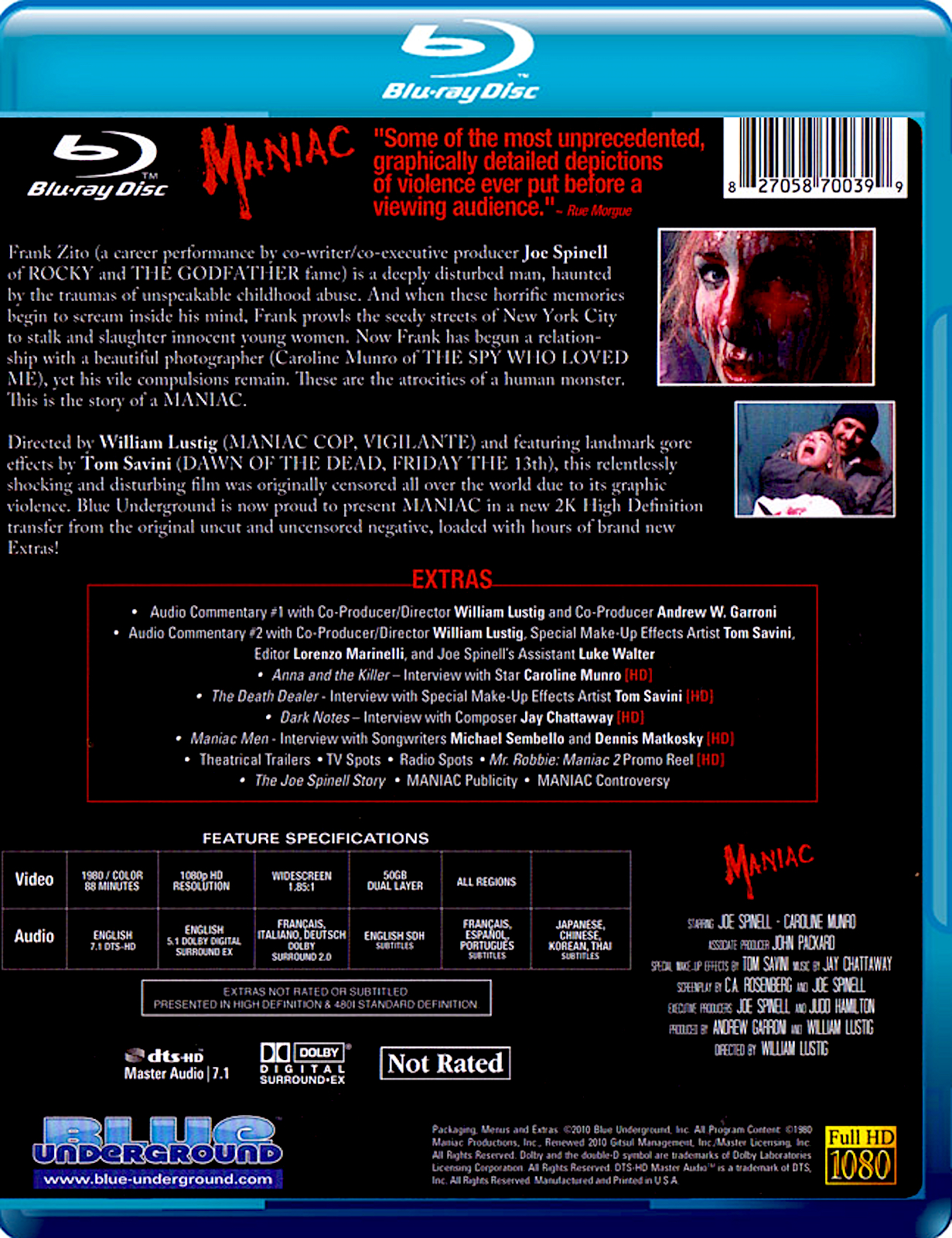 Blu-Ray And Dvd Covers Blue Underground Blu-Rays The -5177