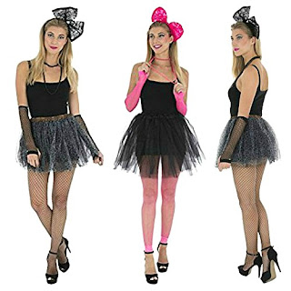 5 Piece Instant 1980s Costume Set for Women by Zac's Alter Ego