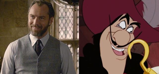 Jude Law em negociações para interpretar o Capitão Gancho no Live Action 'Peter Pan e Wendy'