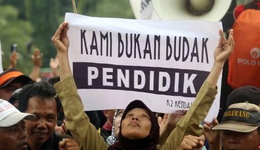 Honorer K2 Akan Gelar Aksi Serentak di Seluruh Daerah
