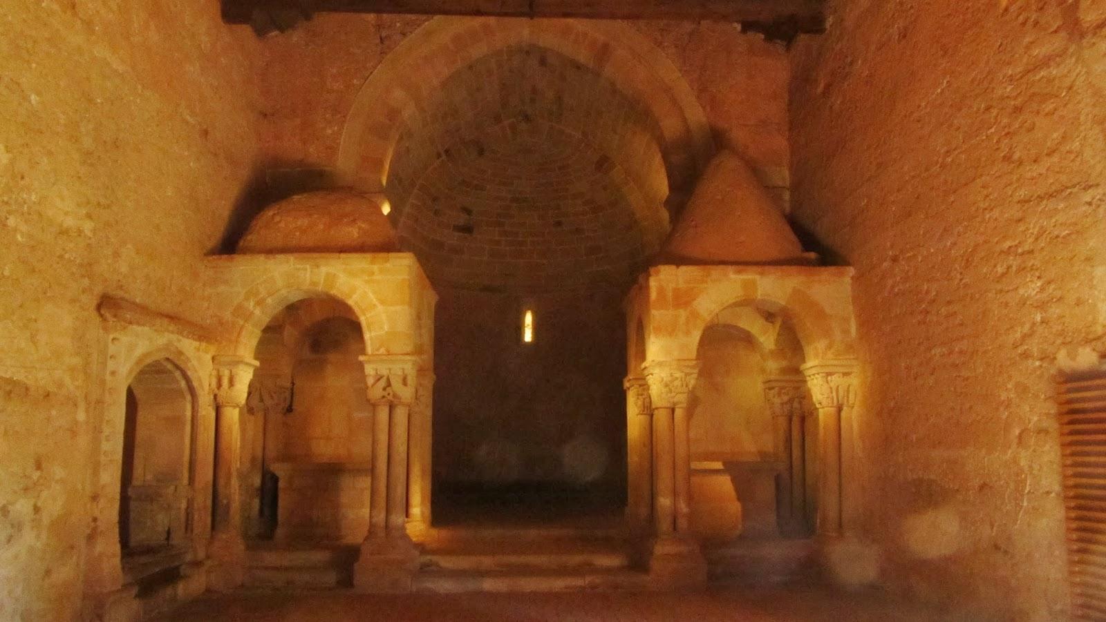 Interior Iglesia de San Juan de Duero