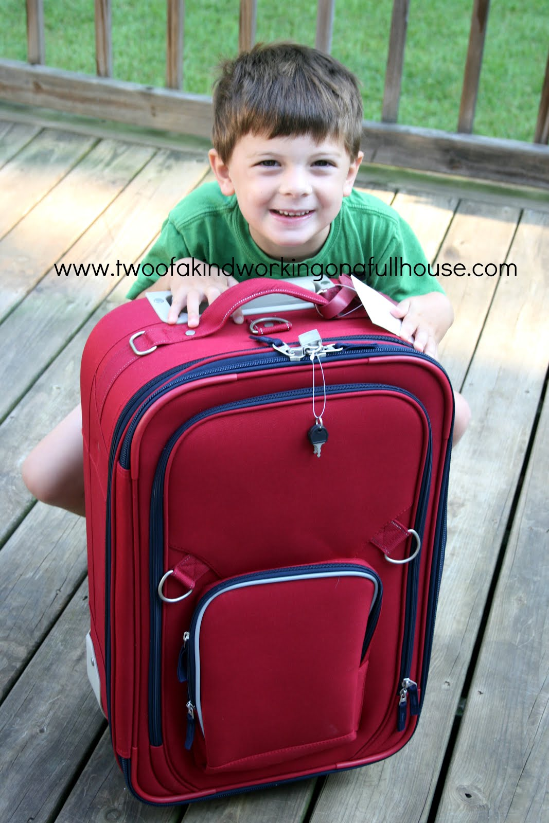 Kids Large Suitcase Mc Luggage