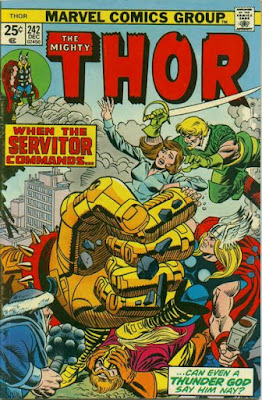 Thor #242, the Servitor