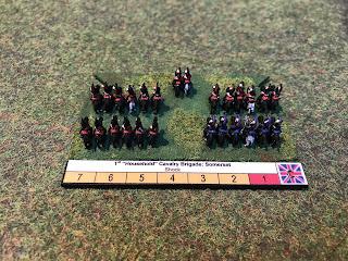 The cavalry have a high elan in Blucher
