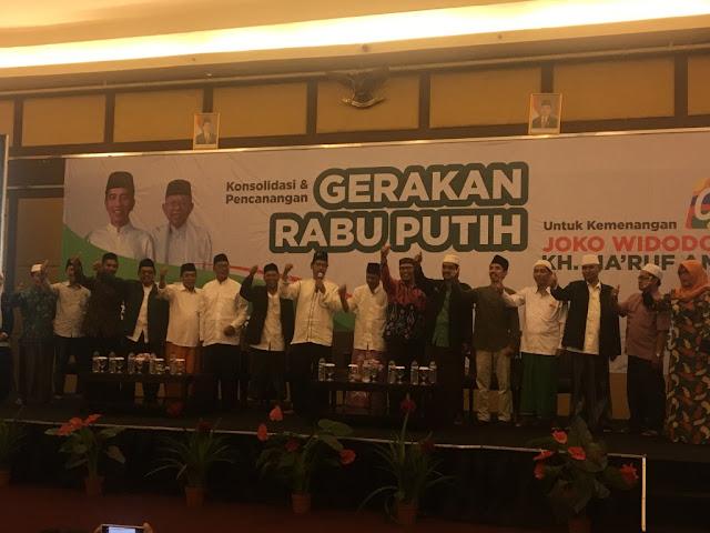 Keluarga Besar Madrasah Diniyah se-Jatim Siap Menangkan Jokowi-Kiai Ma'ruf