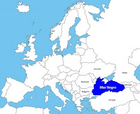 Ubicación del Mar Negro
