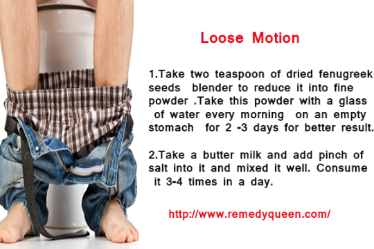 Home Remedies to Stop Loose Motion