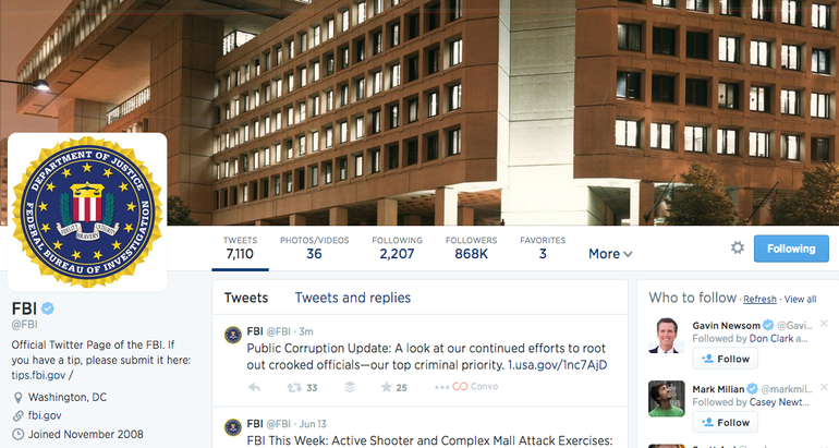 FBI Releases 83-Page Dictionary Of Twitter Slangs