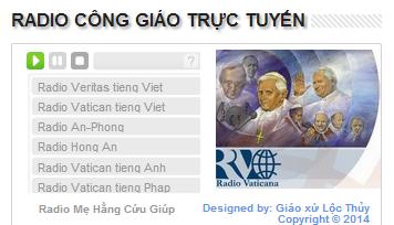 Nghe và tải chương trình Radio Công Giáo