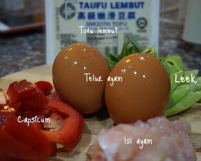 Lagi Menu Untuk Sihat ~ Stim Egg Tofu