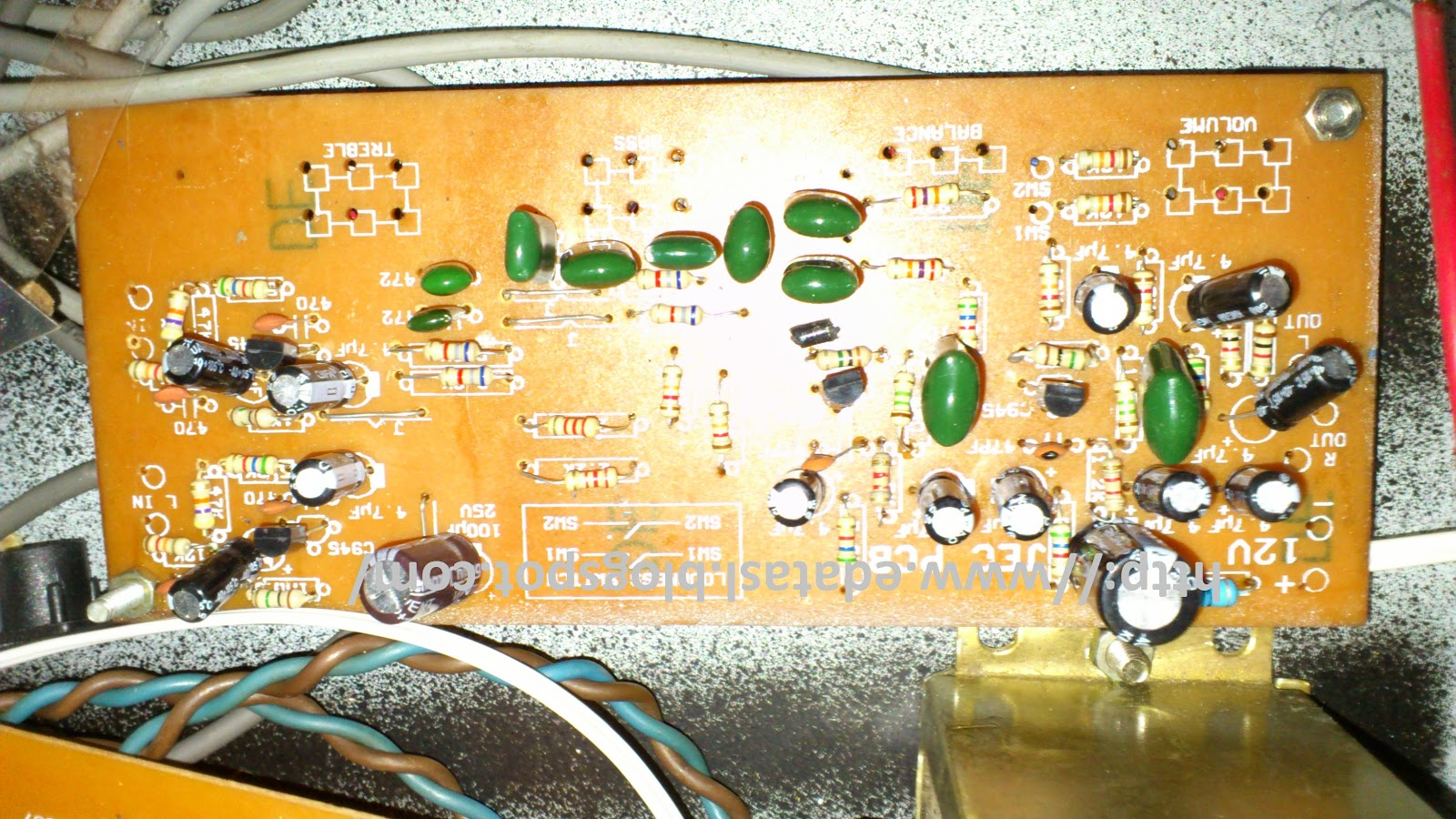 Electronic Circuit Componnent Data Lesson And Etc Stk4231 Ii Usb Powered Stereo Computer Speaker Electroniccircuit Pre Amp