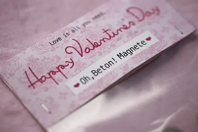 Ynas Design Blog, Oh Beton! Herzmagnete aus Beton, Valentinstag