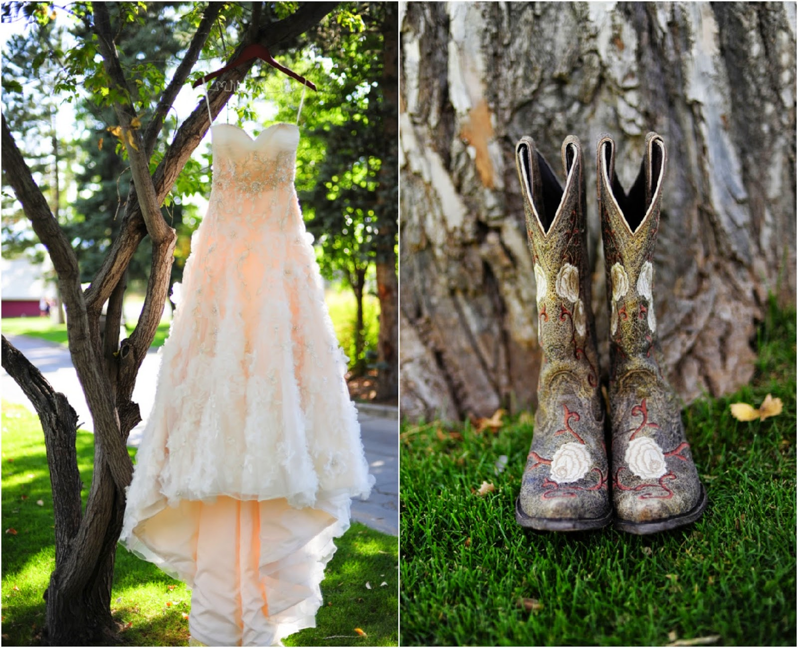 High Low Wedding Dresses With Boots Fashion Dresses
