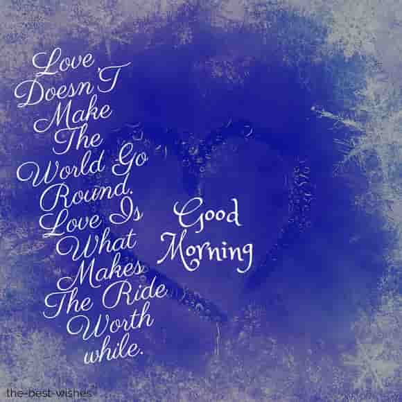 good morning my love with text