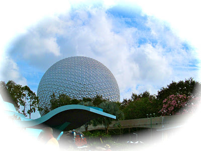 visiting Epcot with my daughter
