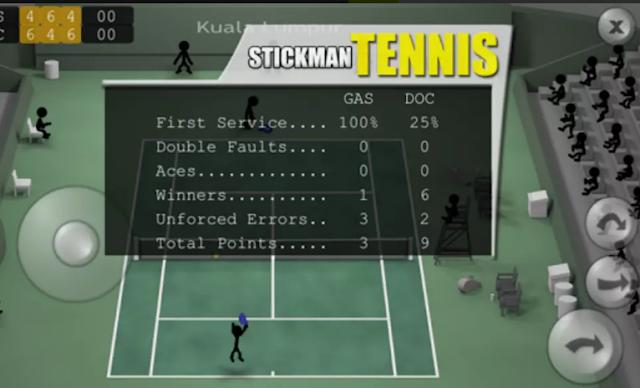 تنزيل لعبة Stickman Tennis للأندرويد