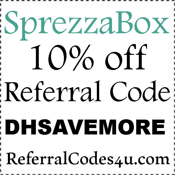 Sprezzabox Referral Codes 2019-2020, Sprezzabox Subscription Discount Code July, August, September