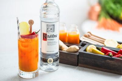 hình ảnh cocktail pha chế từ rượu vodka