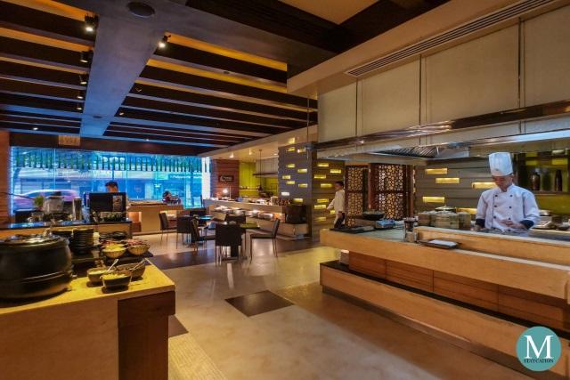 Noodles Breakfast Buffet at New World Makati Hotel