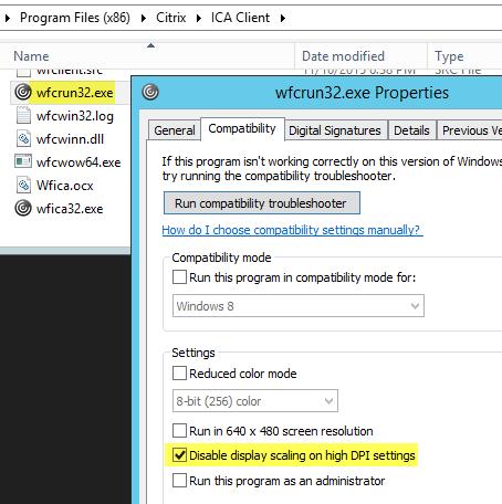 ciTriks no:::: Black Window when starting a Citrix Application?