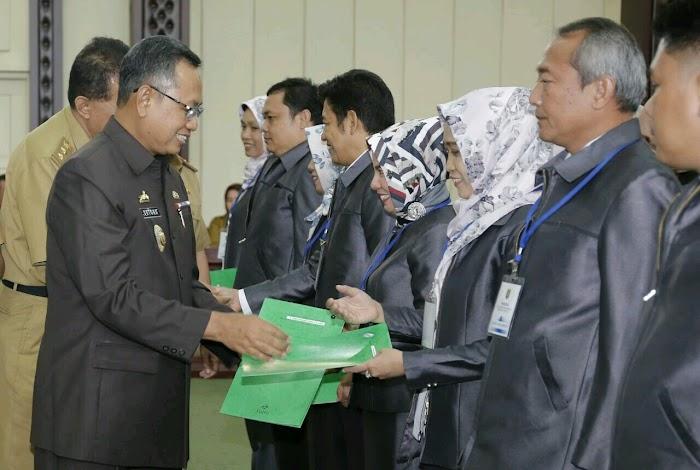 Provinsi Lampung Percontohan Pelayanan Berbasis Kompetensi