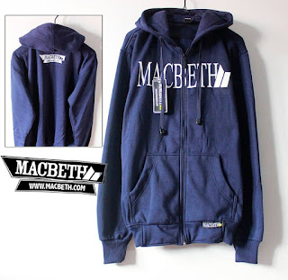 Jaket Fleece Hoodie Macbeth MAC007