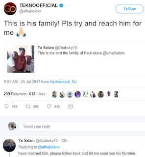 Tekno in search of his secondary school friend,wants to gift him N1m