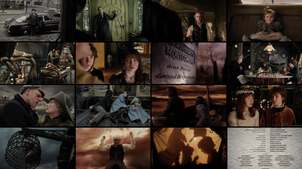 Lemony Snickets ASeries of Unfortunate Events 2004 BluRay 480p 330MB