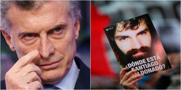 Argentina: Mauricio Macri habla sobre Santiago Maldonado