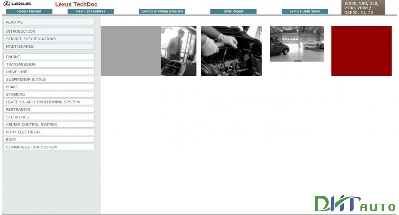 Lexus Is300c 250 Repair Manual Electrical Wiring Diagram Body