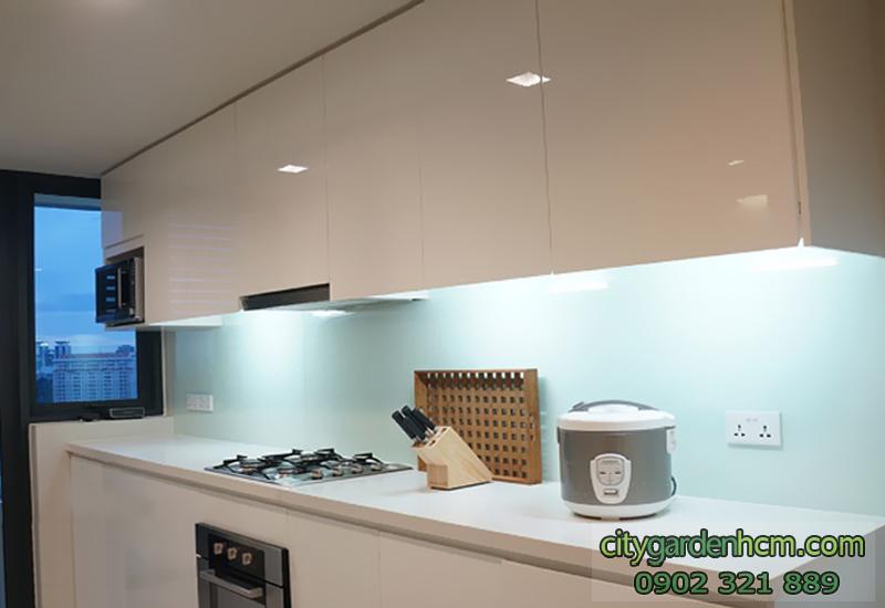 phòng bếp căn hộ CITY GARDEN cho thuê