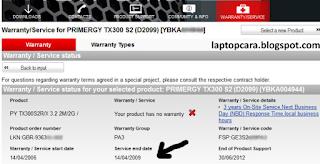 laptop warranty fujitsu