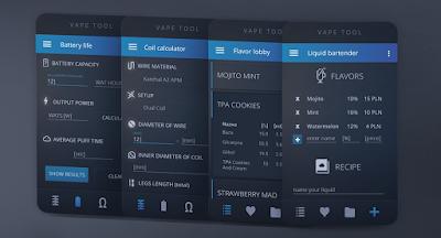 Vape Tool Pro, Aplikasi Android Wajib Bagi Pengguna Vape