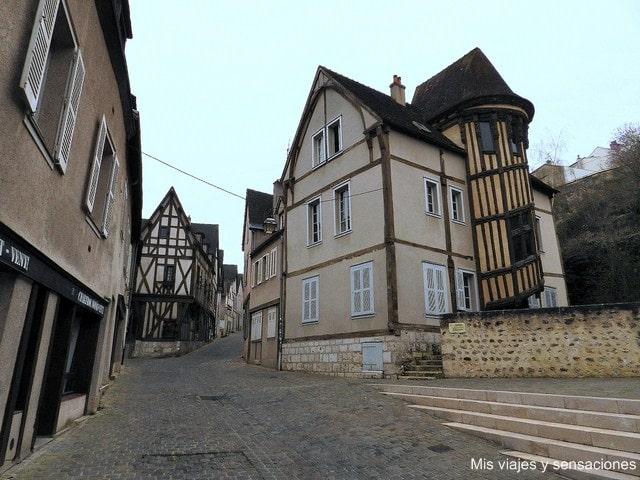 la escalera de la reina Berthe, ciudad de Chartres, Francia