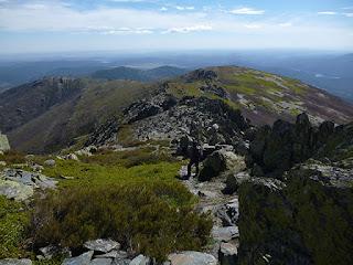 Descenso del Pico Ocejón
