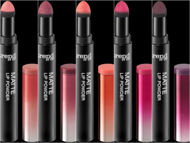 trend IT UP Lip Powder, Farben