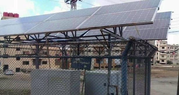 مشروع جديد لتغذية المحطات الهاتفية بالطاقة الكهروضوئية في السويداء