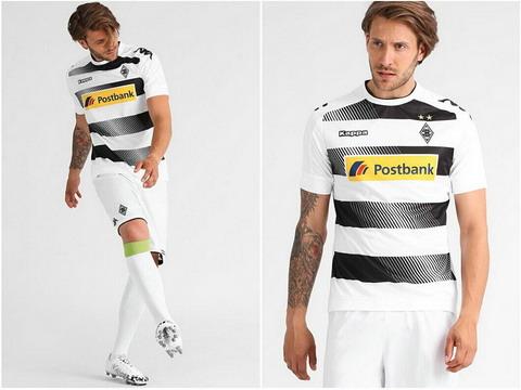 49a0a9f29b camisa Borussia Mönchengladbach primera la próxima temporada 2016-2017