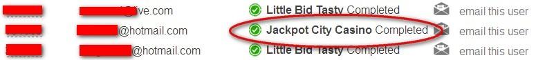 Offer Jackpot city casino FreebieJeebies completa confirmada ganha prémios dinheiro fácil confirmed