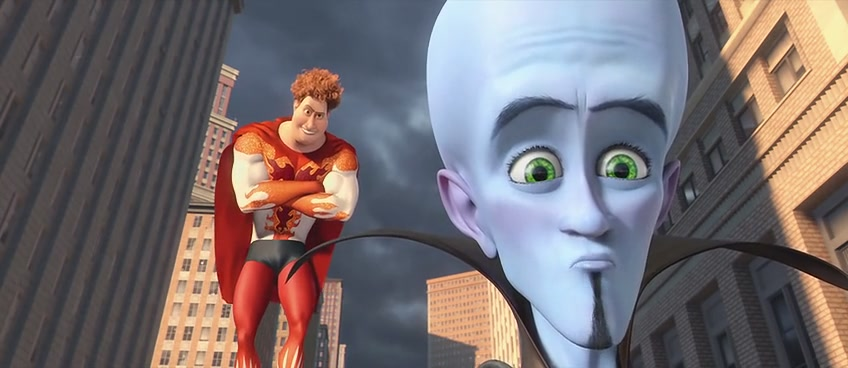 "Megamind and Hal ""Megamind"" 2010 animatedfilmreviews.blogspot.com"