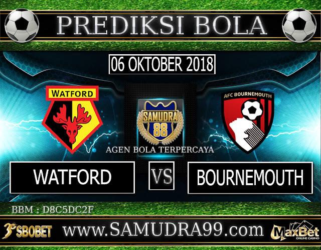 PREDIKSI TEBAK SKOR JITU WATFORD VS BOURNEMOUTH 06 OKTOBER 2018